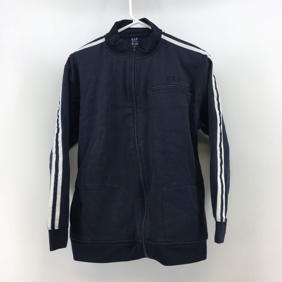 GAP Jackets & Blazers - Gap Womens Full Zip Track Jacket Size XXL Blue